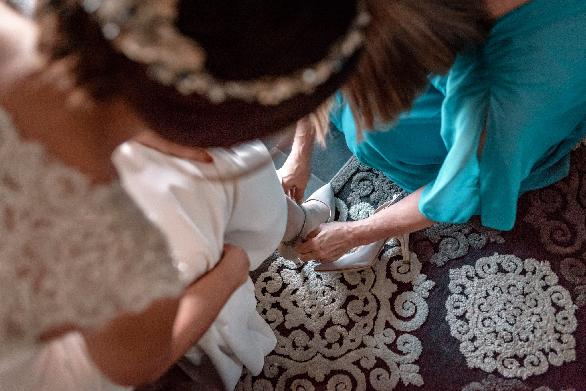 Boda en Ermita Virgen del Puerto - zapato