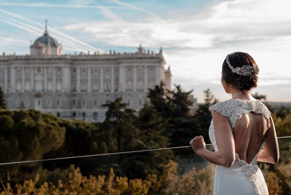 Preparativos novia en Apartosuites Jardines de Sabatini Madrid_02