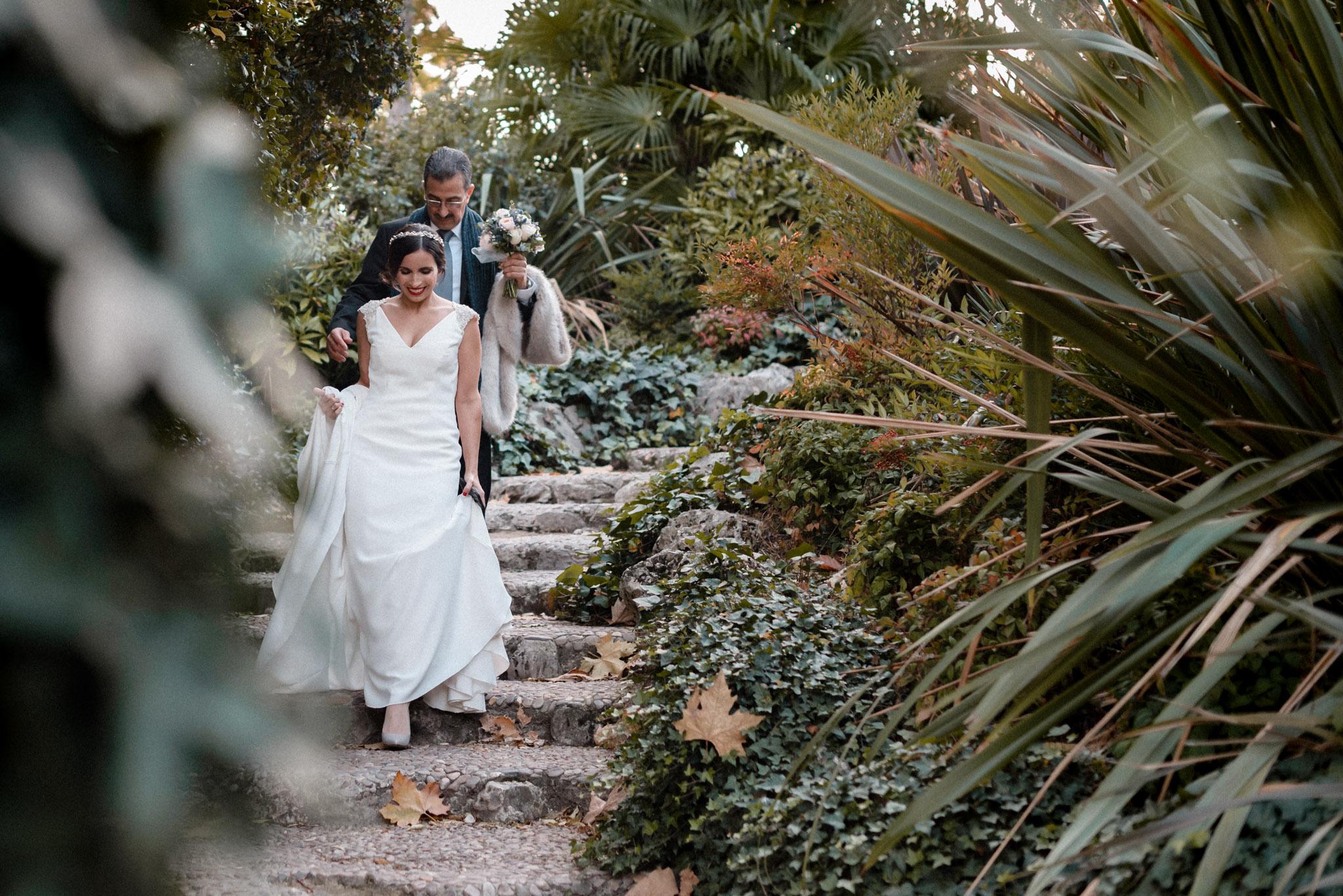 Boda en Ermita Virgen del Puerto - llega la novia