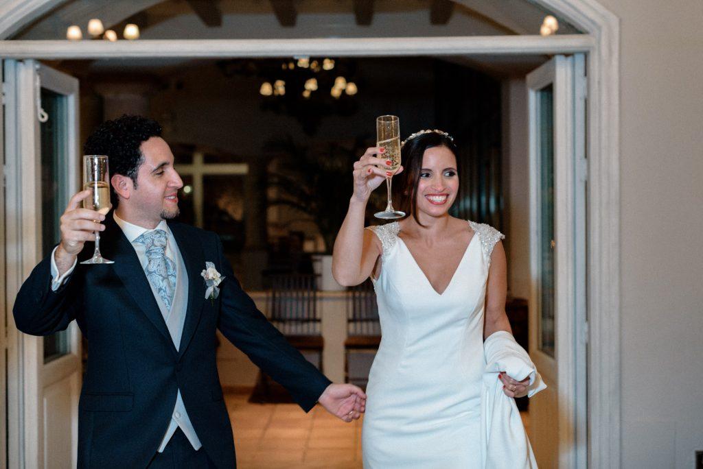 Reportaje de boda en restaurante Palacio de La Misión Madrid_01