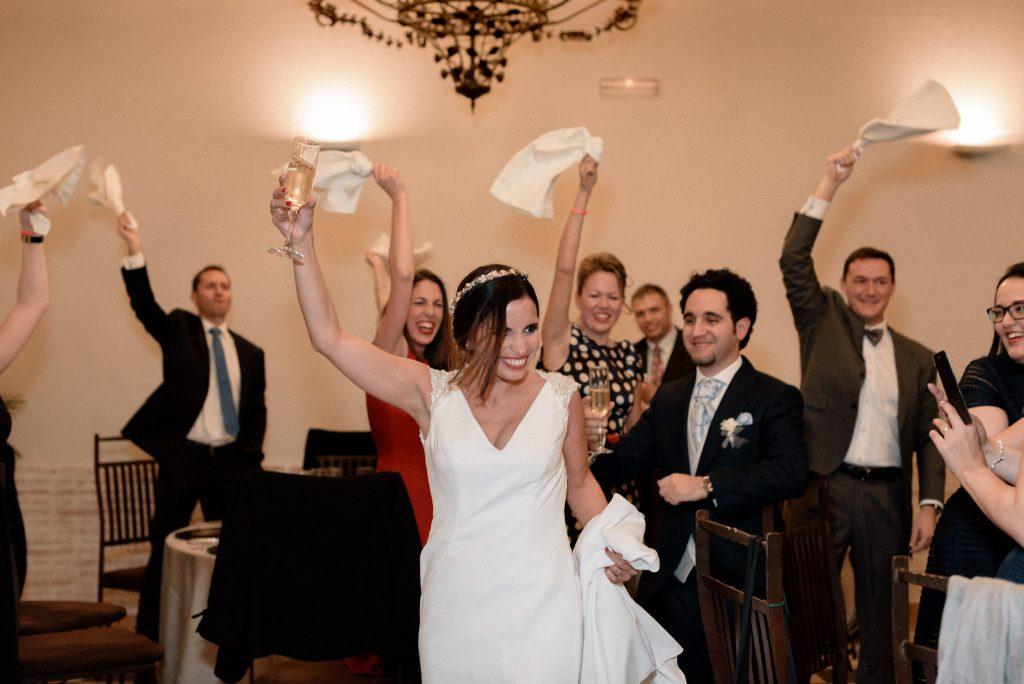 Reportaje de boda en restaurante Palacio de La Misión Madrid_02