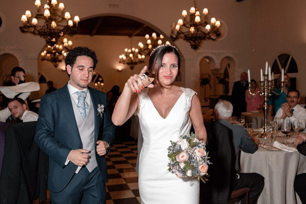Reportaje de boda en restaurante Palacio de La Misión Madrid_03
