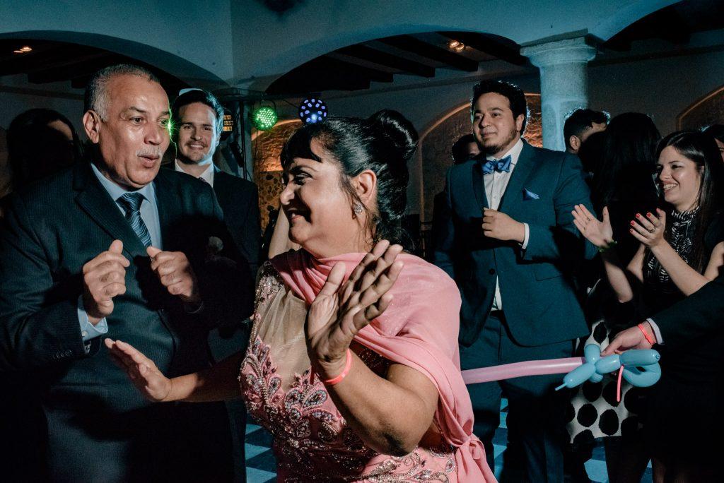 Reportaje de boda en restaurante Palacio de La Misión Madrid_11