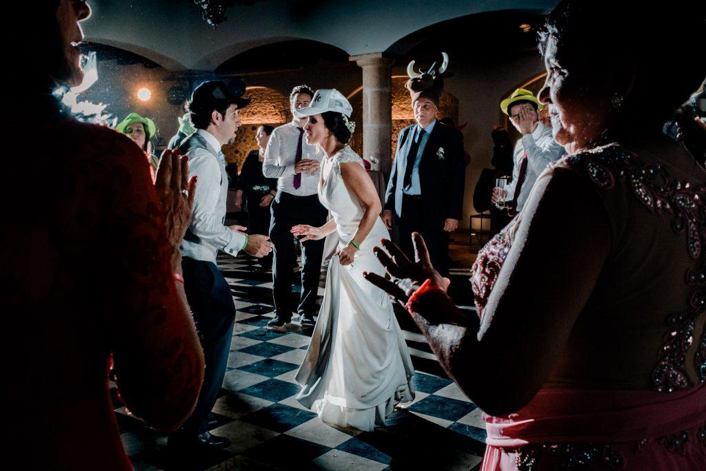 Reportaje de boda en restaurante Palacio de La Misión Madrid_21