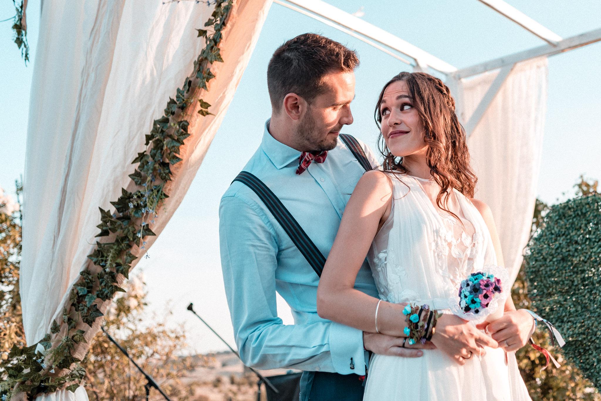Una boda con mucho rock en Madrid