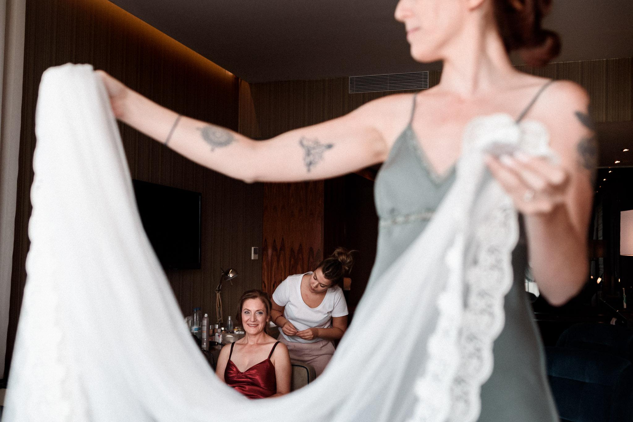 Preparativos novia en Retamares Suit Events